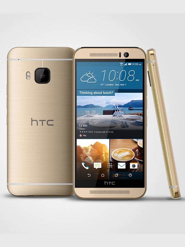 HTC One M9 - Amber Gold